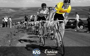 Revive el espíritu del equipo ciclista KAS en La Eroica