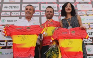 Rojas da la sorpresa y es campeón de España de carretera