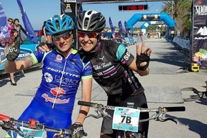 Santanyes y Noriega no se pierden la Vuelta a Ibiza IBIZAMMR15