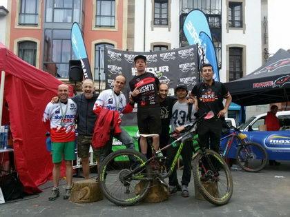 Sergio Diez Tapia (Bz Team) disfrutando del Enduro en Salas