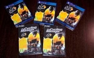 Sorteamos cinco juegos de ciclismo  .. ¡Participa Ya!