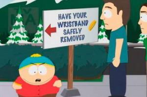 Vídeo: Cartman corta la pulsera de Lance Armstrong en South Park