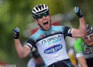 Mark Cavendish primer líder del Giro de Italia 2013