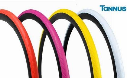 Tannus Tires saca al mercado el NEW SLICK 700X25C ultraligero y 100 % antipinchazos