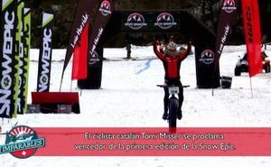Tomi Misser cuenta su experiencia en la Snow Epic