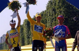 Así se repartirían los siete Tour de Lance Armstrong