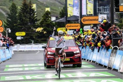 Tour de Francia: Espectacular victoria de Ben O'Connor