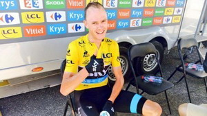 Tour de Francia: Froome impone su ley en la primera llegada en alto