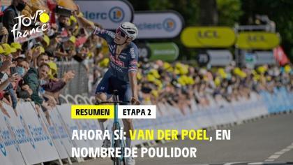 Tour de Francia: Mathieu van der Poel se viste de amarillo