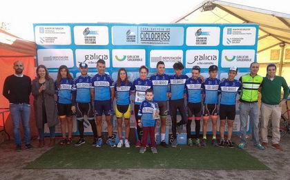 Trabazo y Feijoo más líderes de la Copa gallega de ciclocross