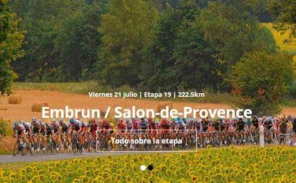 Tras los Alpes llega la etapa más larga del Tour de Francia