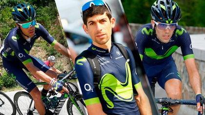 Triple renovación de corredores en Movistar Team