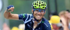 Vídeo de la victoria de Valverde en el Tour de Francia