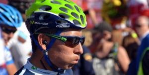 Nairo Quintana se da otro susto en La Vuelta