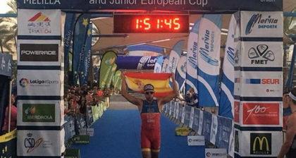Uxío Abuín vencedor del Ranking Europeo de Triatlón 2017