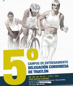 V Campus de entrenamiento de Triatlón en Córdoba