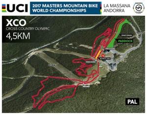 Vallnord Bike Park La Massana sede del Campeonato del Mundo Másters UCI de XCO-DHI