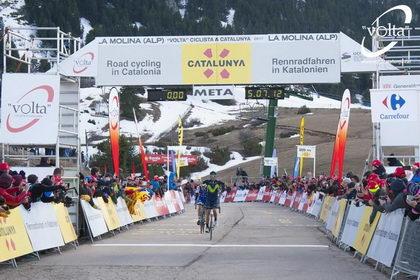 Vallter 2000 y La Molina acogerán dos llegadas de La Volta