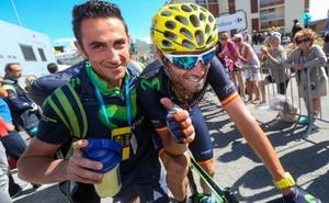 Valverde llega a San Sebastian desde el podio de París