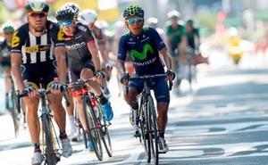 Valverde y Quintana afectados por la caída de la sexta etapa