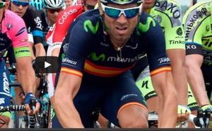 Valverde y Quintana superan sin problemas el temido pavé