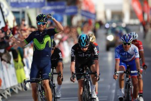 Valverde sigue en racha y lidera la Vuelta a Andalucía