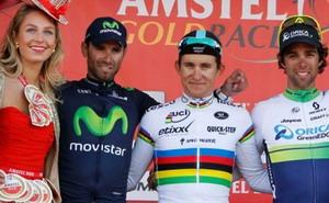 Valverde sube al podio en la Amstel Gold Race