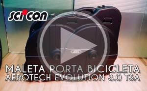 Viaja seguro con tu bicicleta con la Scicon AeroTech Evolution 3.0