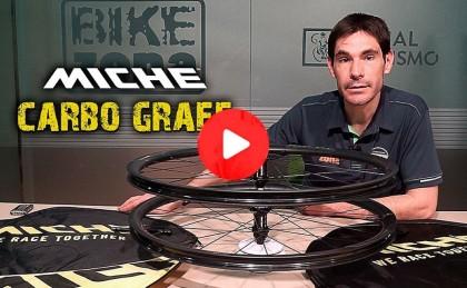 Vídeo + artículo: Nuevas ruedas MICHE CARBOGRAFF diseñadas para Gravel