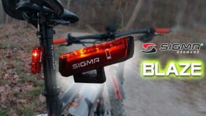 Vídeo + artículo: Probamos Sigma BLAZE la luz de freno para tu bicicleta