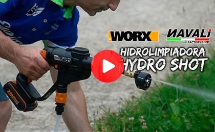 Vídeo: Hidrolimpiadora a presión Hydro Shot de NAVALI