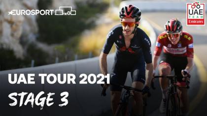 Vídeo: Lo mejor de la tercera etapa del UAE Tour