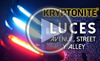 Vídeo presentación: Nueva gama de luces de Kryptonite