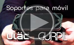 Vídeo: Soportes para smartphone de ULÄC
