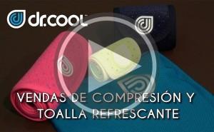 Vídeo: Vendas frías y toallas refrescantes Dr. Cool