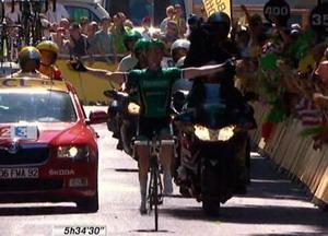 Thomas Voeckler gana a lo grande en la etapa reina de los pirineos