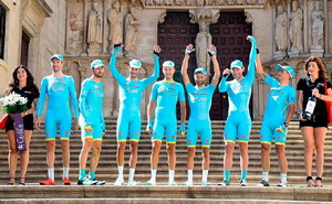 Vuelta a Burgos: Astana gana la crono y Gruzdev es el nuevo líder