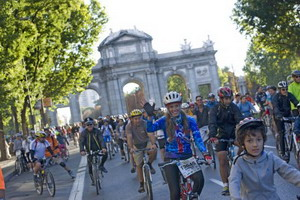 Vuelve la fiesta de la bicicleta a Madrid