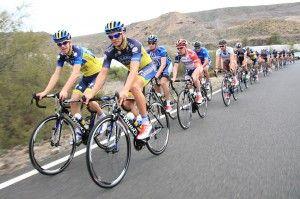 El Saxo Tinkoff de Alberto Contador finaliza su stage en Gran Canaria