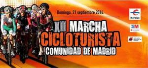 XII Marcha Cicloturista Comunidad de Madrid-Unike 2014