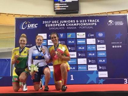 Ziortza Isasi, bronce en eliminación sub23
