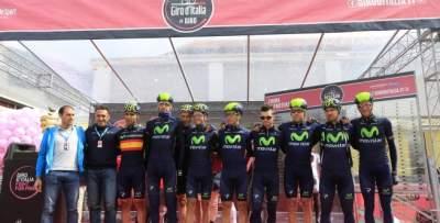 Finaliza un Giro inolvidable para Movistar Team