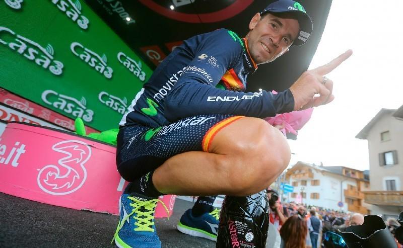 Valverde gana en el Giro y entra en la historia