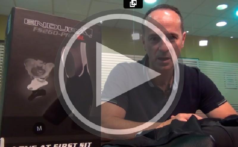 Vídeo: Culotte FS260 Pro SL, lo más avanzado de Endura