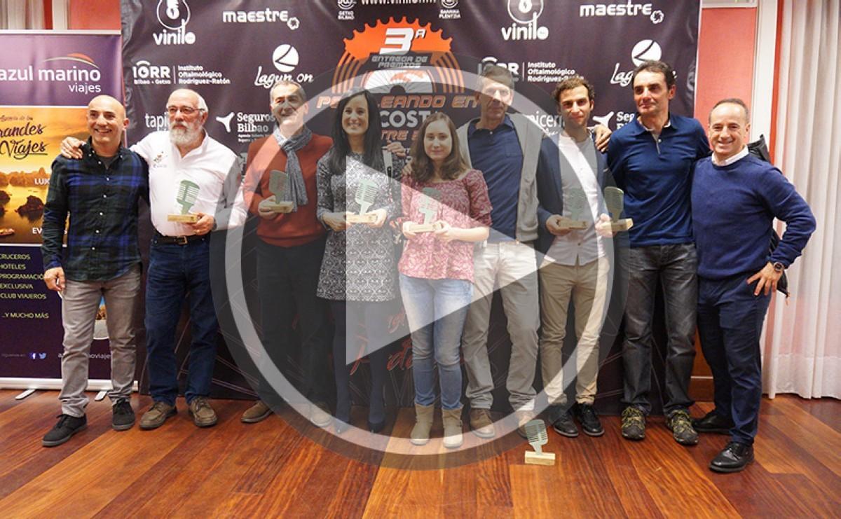 Premios Pedaleando por la Costa 2017