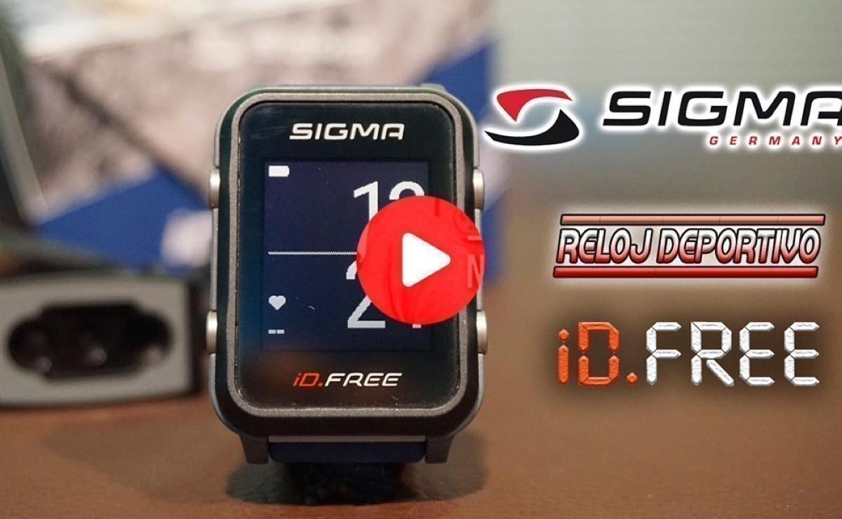 Vídeo presentación: Libertad sin limites con el reloj multideporte Sigma iD.FREE