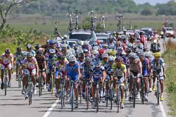 Etapas y equipos Vuelta al Táchira 2013