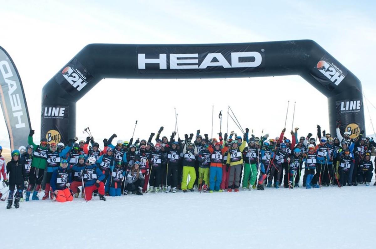 32 equipos completan las 12 horas de esquí ininterrumpido