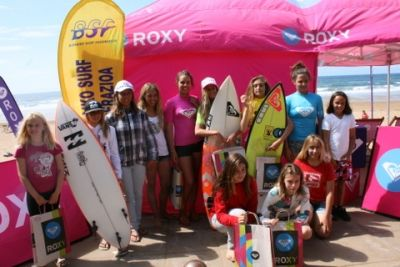 King of the groms y Roxy Surf Camps en Sopelana