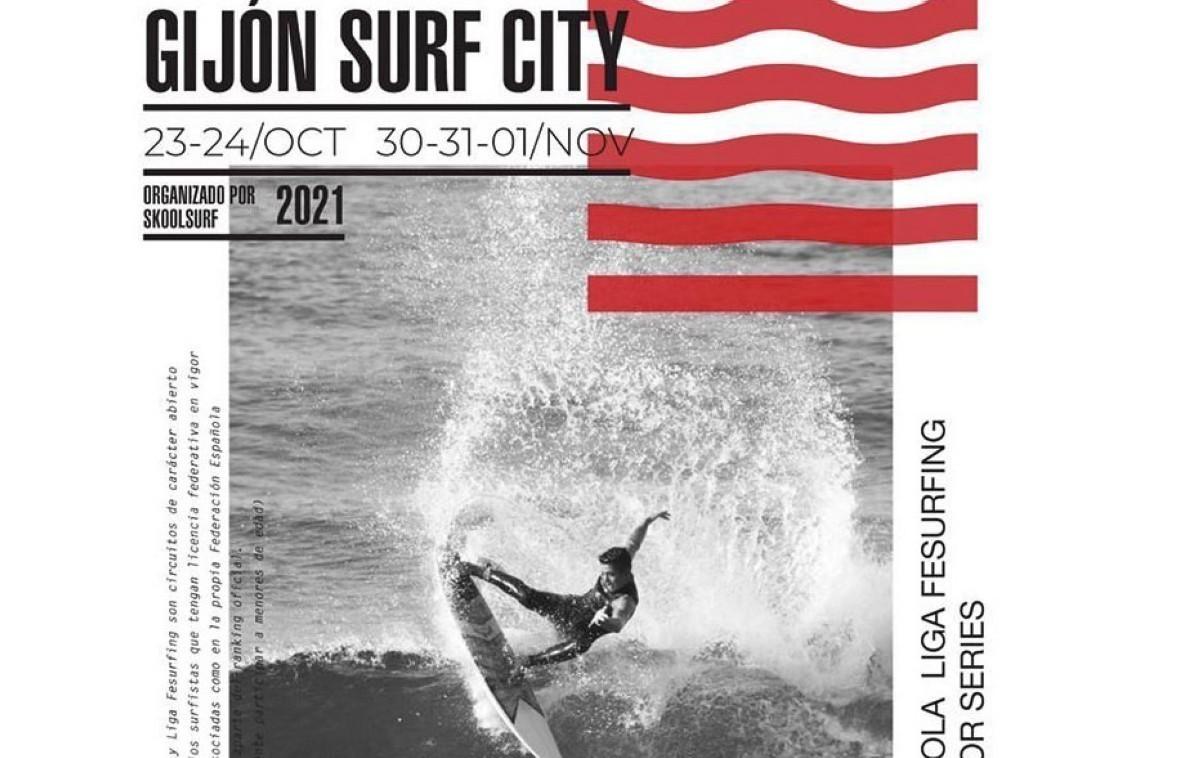 Abiertas las inscripciones para el Gijón Surf City